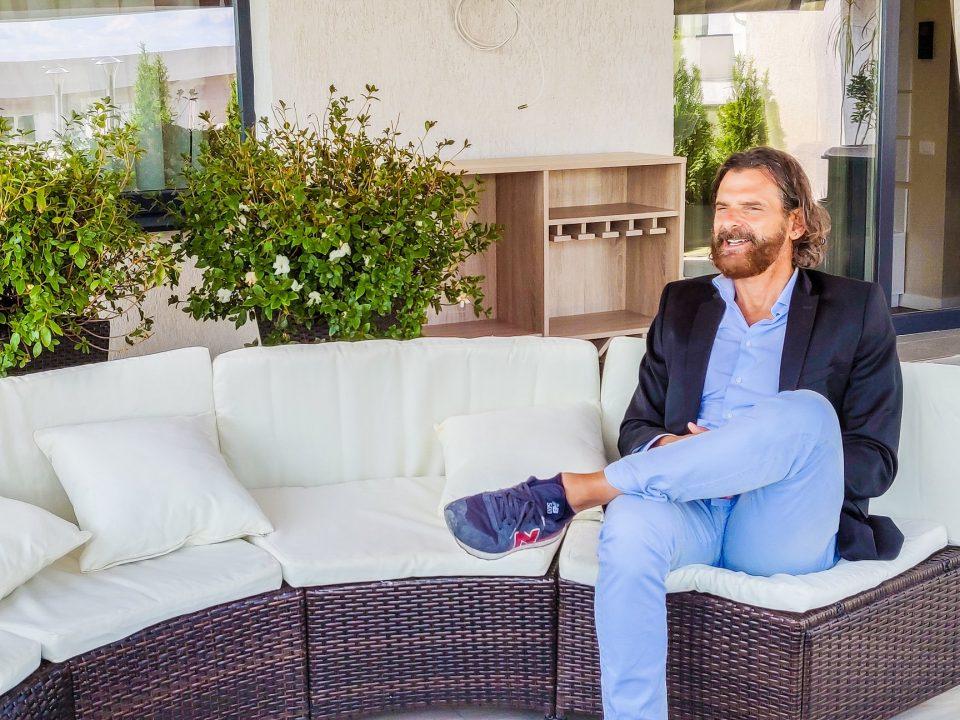"""Să-l cunoaștem pe Claudio Botticelli, medicul italian care a investit în complexul rezidențial """"Atrium Garden"""" Iași"""